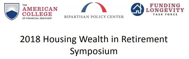 Bipartisan Think Tank, Funding Longevity Taskforce Co-Host Housing Wealth in Retirement Symposium