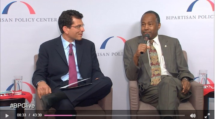 BPC Hosts a Fireside Chat with HUD Secretary Carson