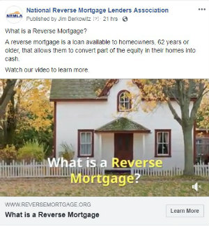 Now on Facebook: What is a Reverse Mortgage?