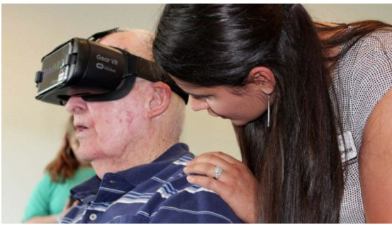 How Virtual Reality Improves Seniors' Lives