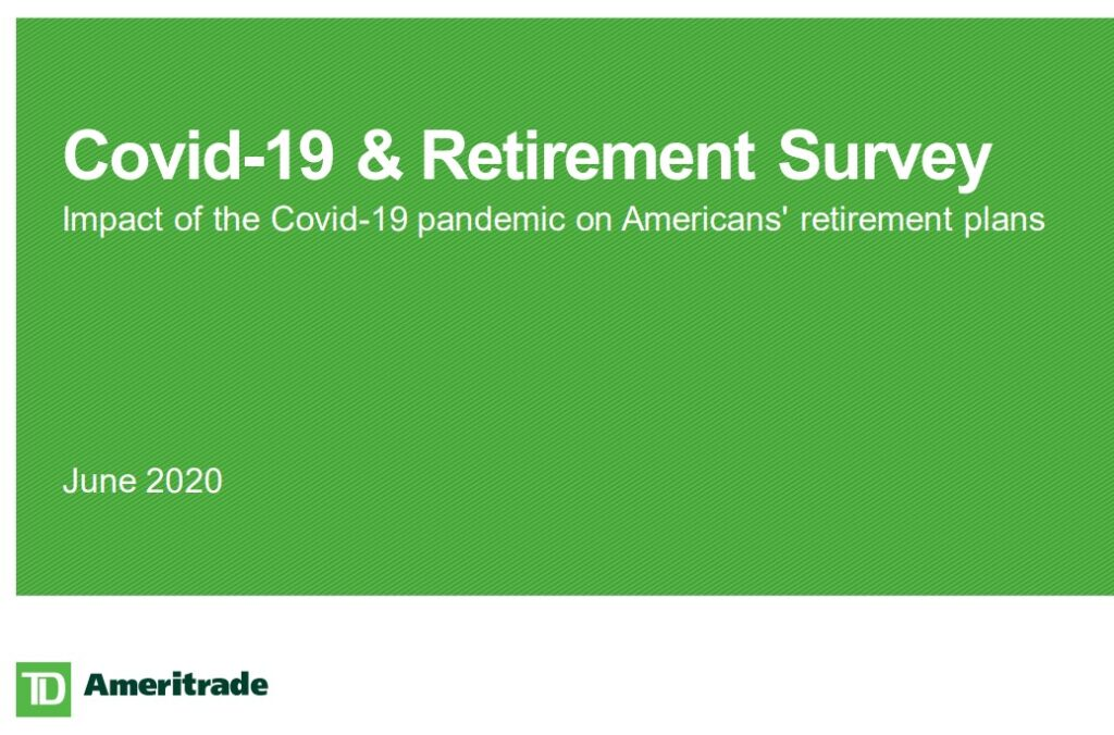 TD Ameritrade: 71 Percent of Americans Predict Retirement Plan Changes